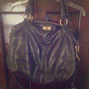 Jcrew Leather Hobo Bag